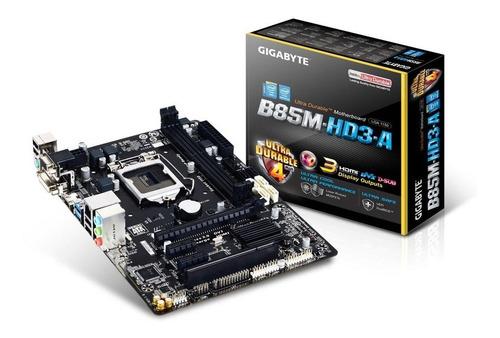 gigabyte micro-atx motherboard ga-b85m-hd3- intel lga1150