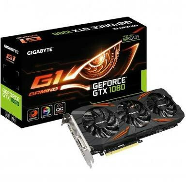 gigabyte nvidia gtx 1080 8gb tarjeta de video gaming
