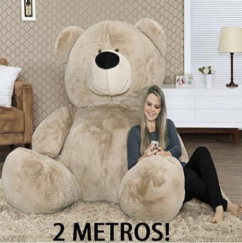 gigante pelúcia de 2 metros 200cm casa dos ursos em curitiba