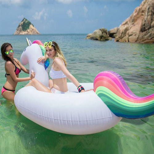 gigante unicornio flotante  inflable para piscina