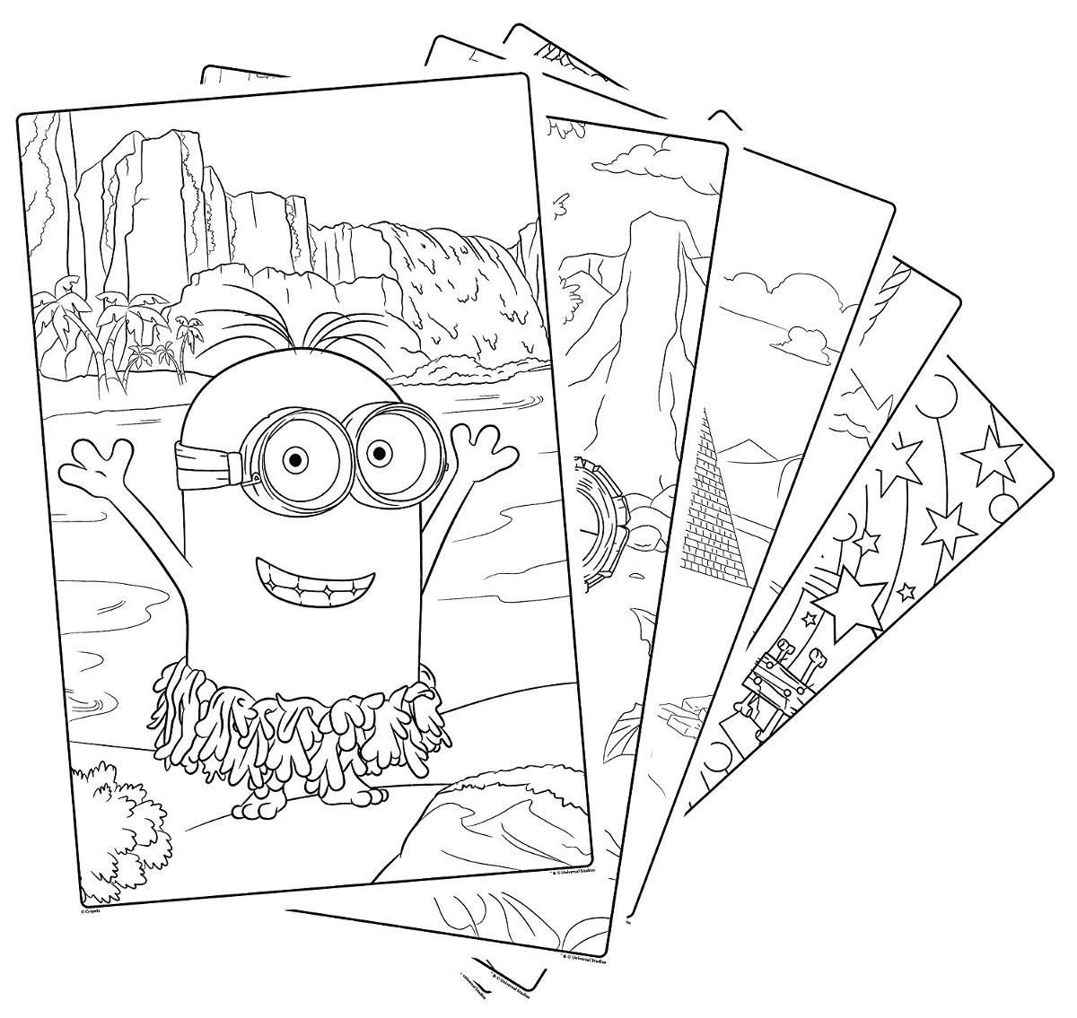 Excelente Páginas Gigantes Para Colorear Crayola Imagen - Dibujos ...