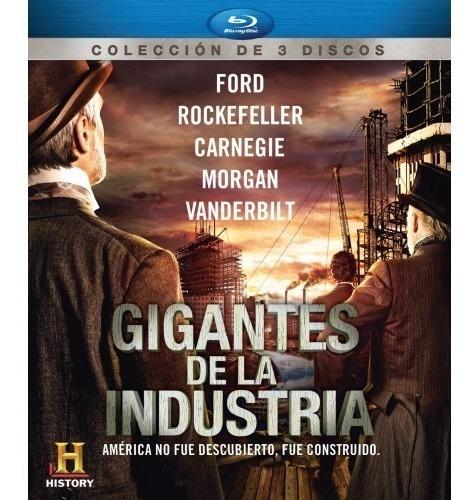 gigantes de la industria history blu-ray
