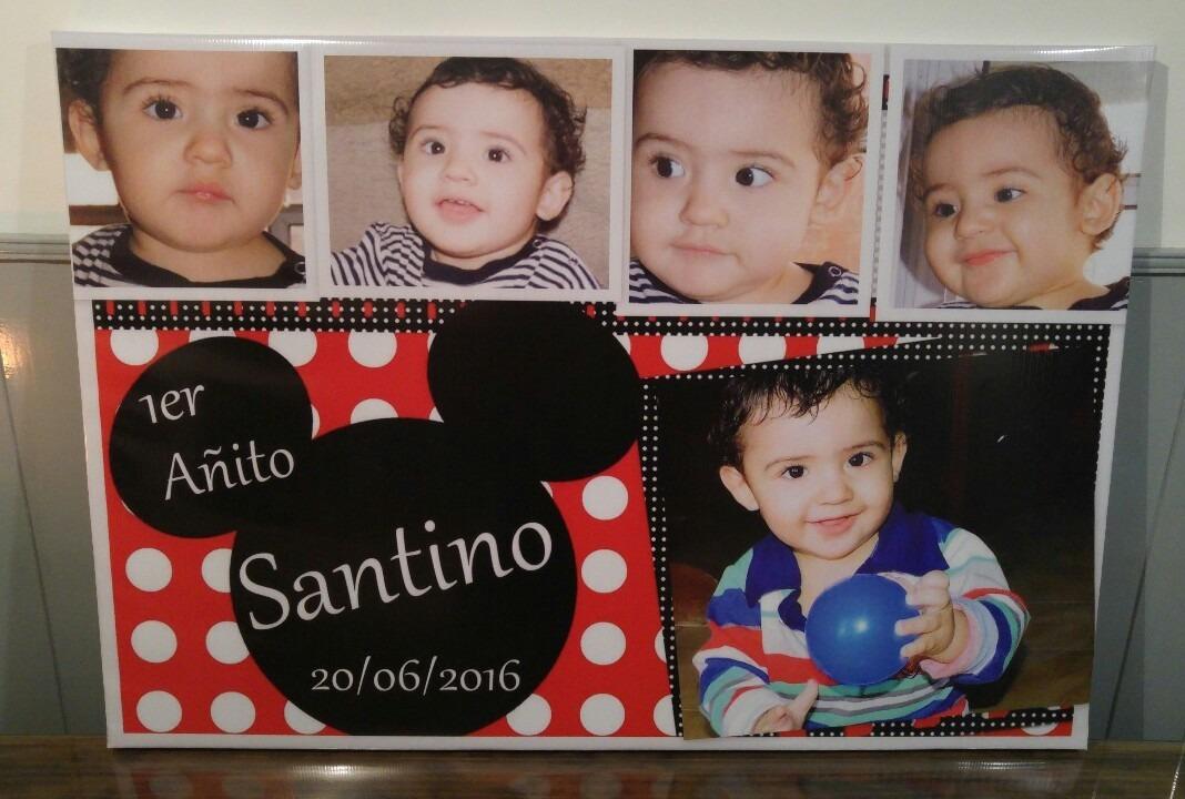 Gigantografia Collage 8 Fotos En Lona 0.70 X 1.00 Con Marco ...