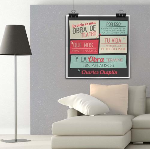 gigantografia poster afiche lámina vinilo personalizado