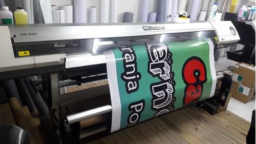 gigantografias dia banner publicitario ploteo front carteles
