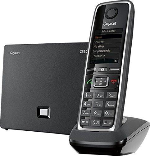 gigaset-c530ip inalámbrico híbrido de teléfono expansible pa