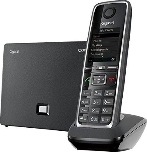 gigaset gigaset-c530ip híbrido inalámbrico ampliable teléfon