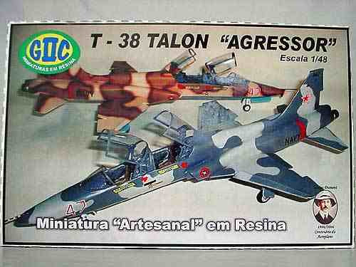 giic-avião northrop t-38 talon - agressor