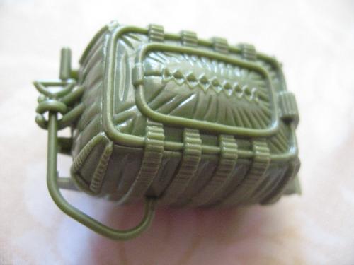 gijoe 1988 hit & run green parachute backpack target exclus