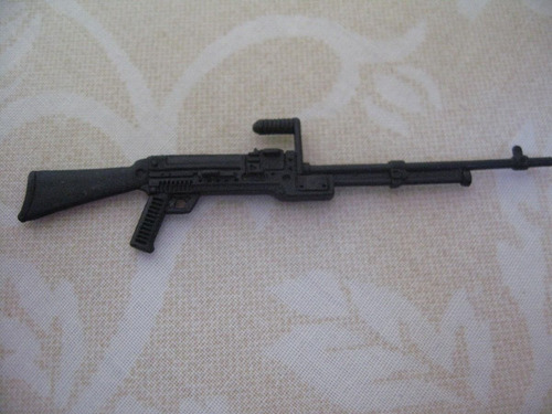 gijoe 1994 flint black rifle