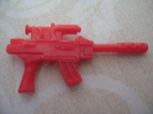 gijoe 1994 major bludd v3 red machine gun w infrared