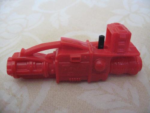 gijoe 1994 metal-head v2 red missile launcher