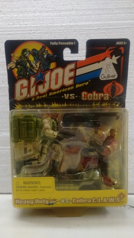 GI Joe Heavy Duty vs Cobra Claws