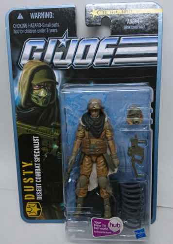 g.i.joe pursuit of cobra dusty desert combat especialist