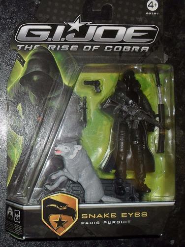 gijoe the rise of cobra snake eyes sellado importado