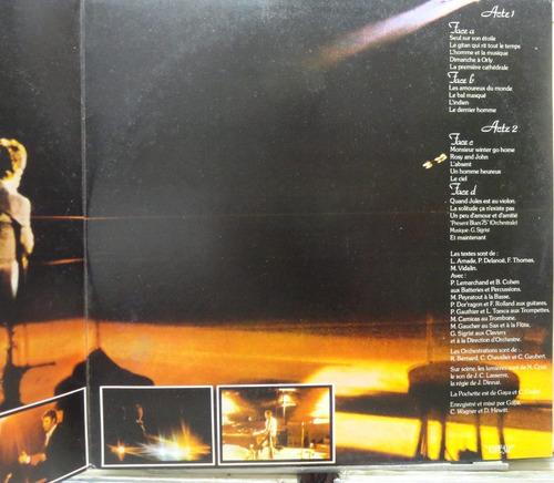gilbert becaud olympia 76 pathé 1975 album duplo  estéreo