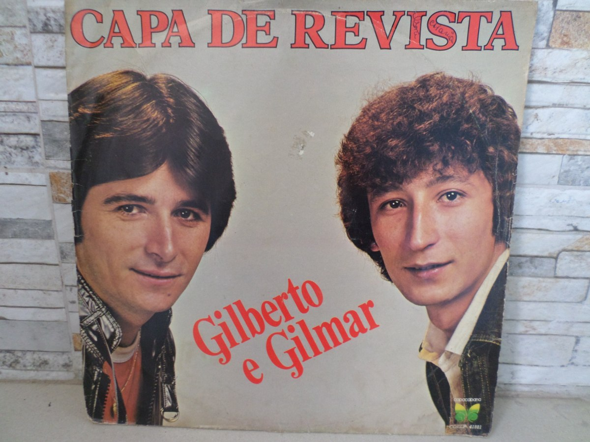 cd gilberto e gilmar capa de revista