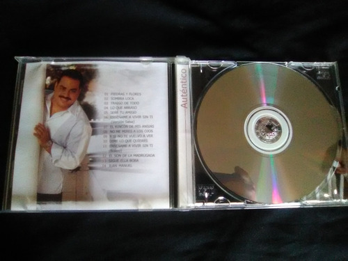 gilberto santa rosa cd - autentico. genero tropical