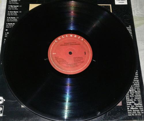 gilberto santarosa / perspectiva / salsa / lp vinilo disco