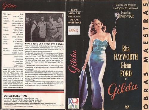 gilda rita hayworth glenn ford cine clasico vhs original