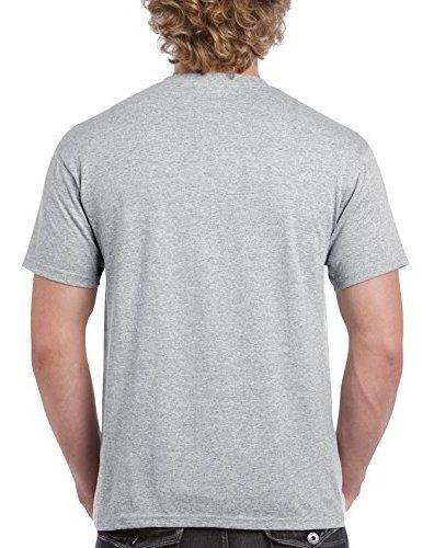 gildan hombres ultra cotton camiseta para adultos, 2-pack