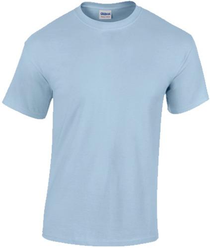 gildan t - camisa estilo 5000 luz azul - tamaño x - grande