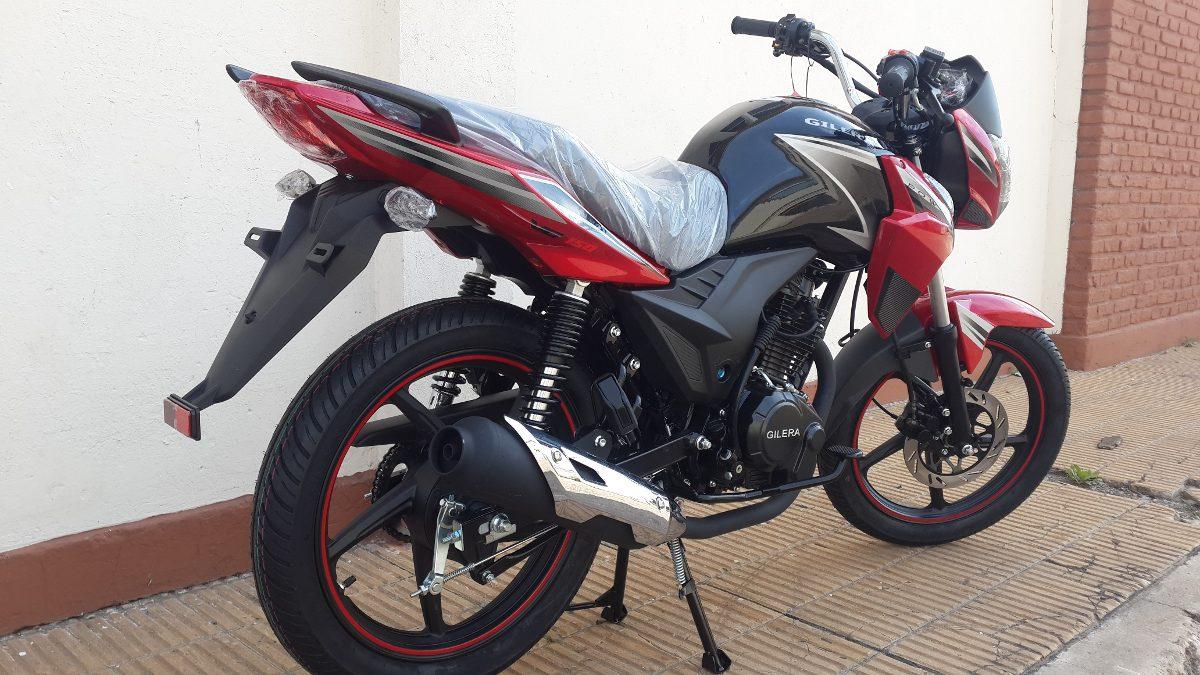 Moto Gilera Vc 200 Cafe Super Sport 2018 0km Roja Al 15/01