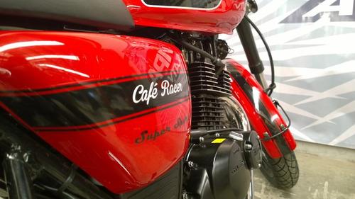 gilera cafe racer calle retro custom dompa