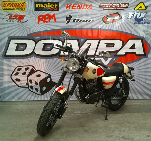 gilera cafe racer calle retro custom dompa motos