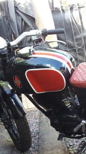 gilera gilera macho 215 italiana cafe racer 1987