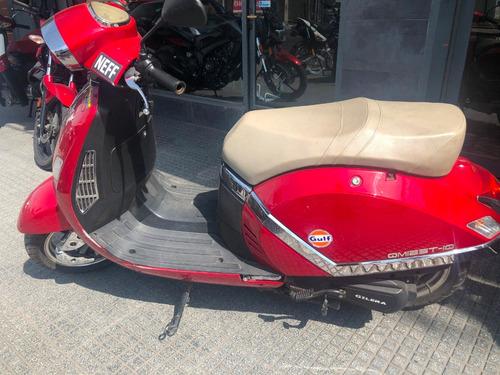 gilera qm125 scooter 2015 - motoshop ezeiza