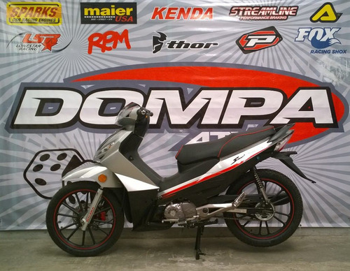 gilera smash 125 rr full disco 0 km calle dompa motos