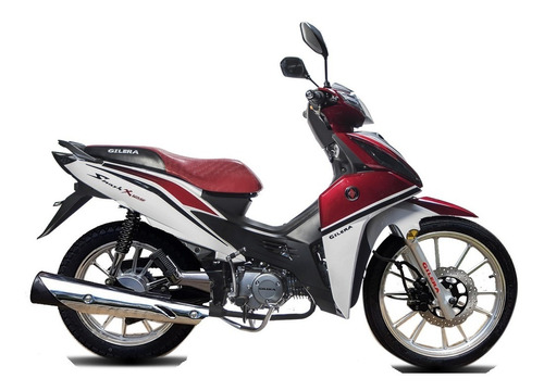 gilera smash 125 x full disco  wave biz eccomotor