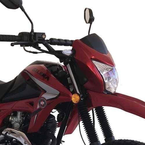 gilera smx 200 serie 3 rojo skua zr eccomotor