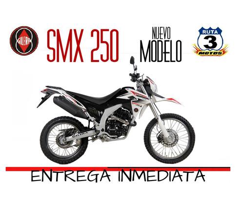 gilera smx 250 2019 varios colores ruta 3 motos