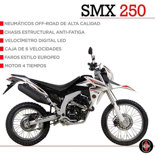 gilera smx 250 enduro 0km 2018 stock en local 19/2