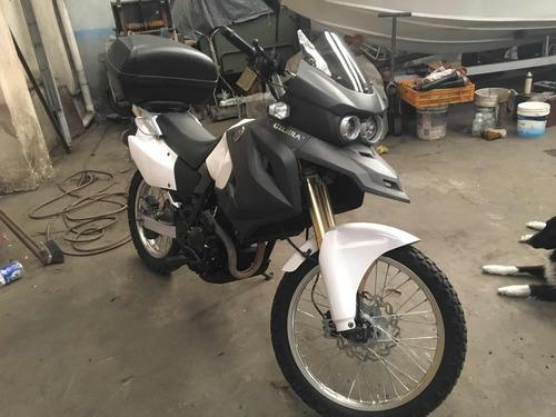 gilera smx 400 rally touring, permuto x moto custom