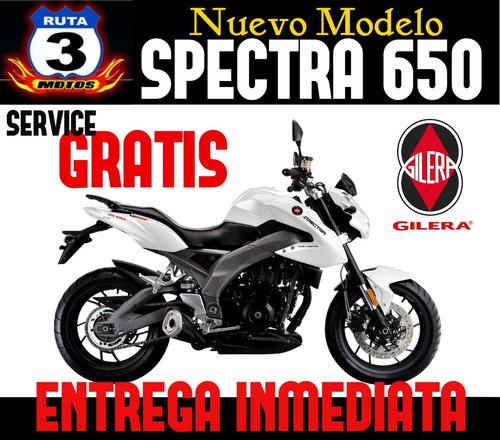 gilera spectra 650 inyection ruta 3 motos oferta contado