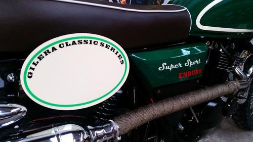 gilera super sport enduro 200 scrambler cafe racer dmp