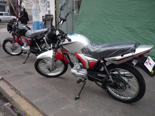 gilera vc 150 vs 0km 12 x $3162 con ahora 12  motos march