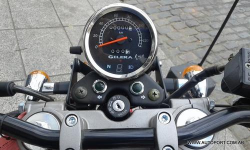 gilera vc 200 cafe racer 0km motos ap