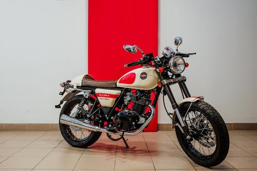 gilera vc 200 cafe racer - giavitto motos