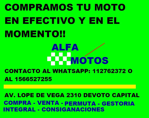 gilera vc 200r  anticipo 23500$ - alfamotos what; 1127622372