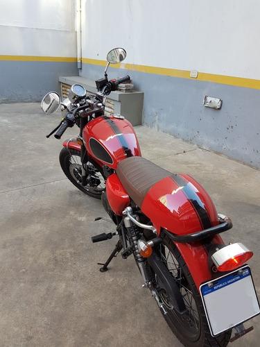 gilera vc200 r cafe racer - con alarma presencial
