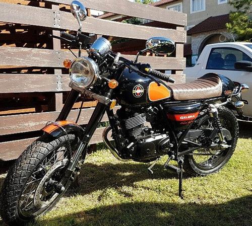 gilera vc200 r cafe racer     vintage
