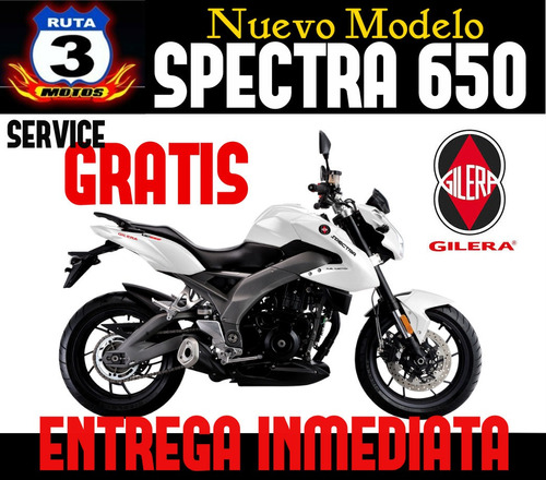 gilera vc650 spectra 650 inyection motor loncin 2018
