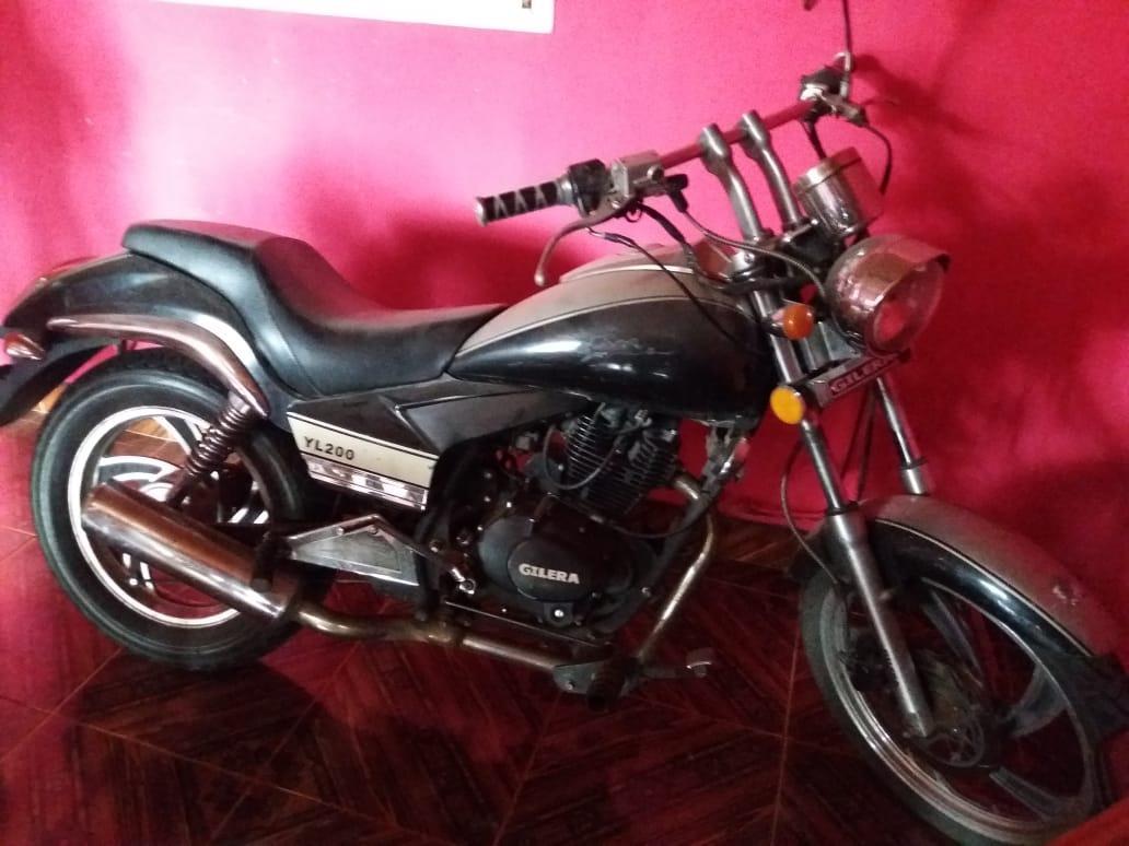 Gilera Yl 200 Custom - $ 80.400 en Mercado Libre