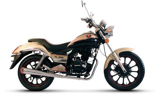 gilera yl 200 custom chopper 2017 0 km 999 motos moto nueva
