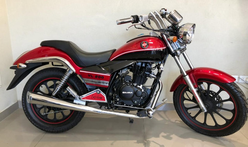 gilera yl 200 custom chopper 2018 0km 999 motos