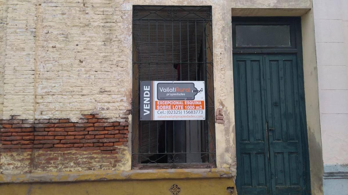 giles -excepcional propiedad en esquina 1000 m2 terreno - 77